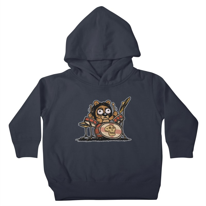 Rockin' Bear Kids Toddler Pullover Hoody by vtavast's Artist Shop