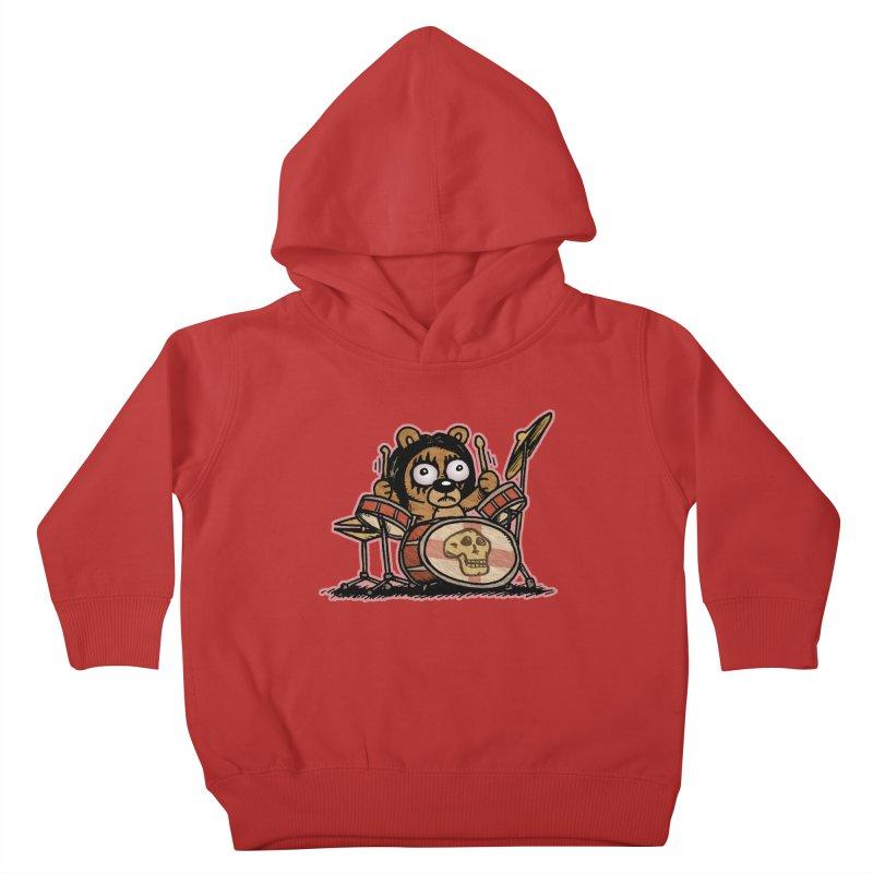 Rockin' Bear Kids Toddler Pullover Hoody by vtavast's Artist Shop