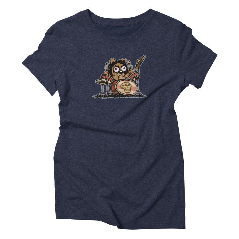 Rockin' Bear Women's Triblend T-Shirt by vtavast's Artist Shop