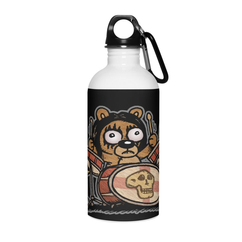 Rockin' Bear Accessories Water Bottle by vtavast's Artist Shop