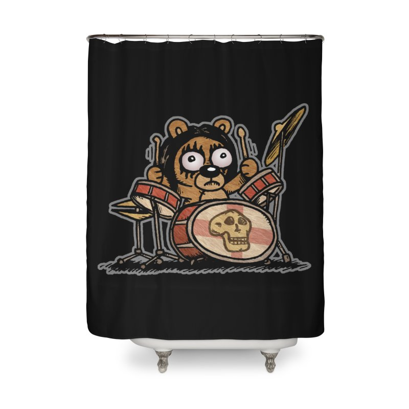 Rockin' Bear Home Shower Curtain by vtavast's Artist Shop