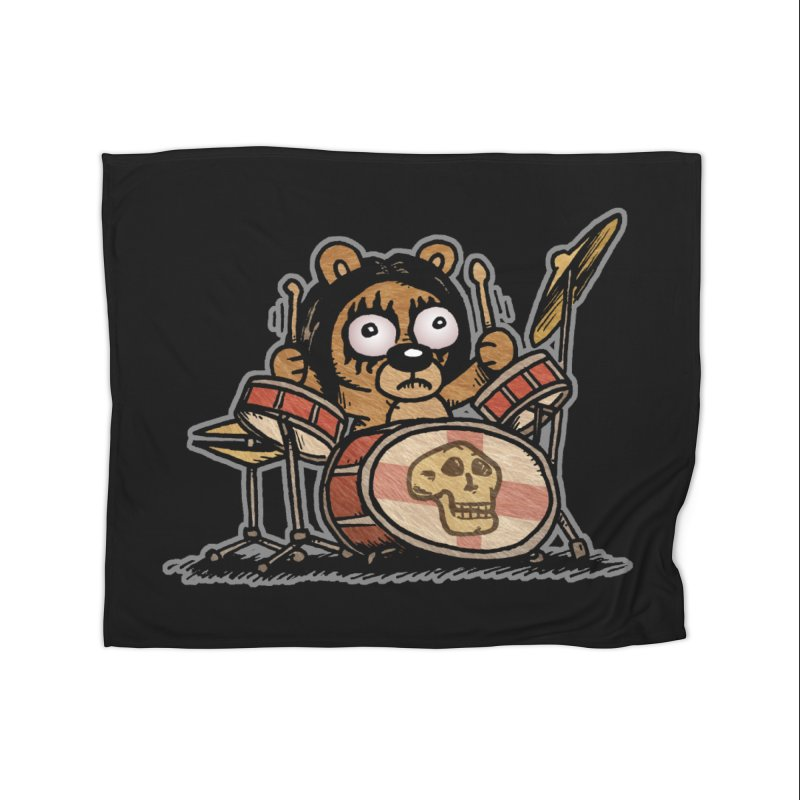 Rockin' Bear Home Blanket by vtavast's Artist Shop