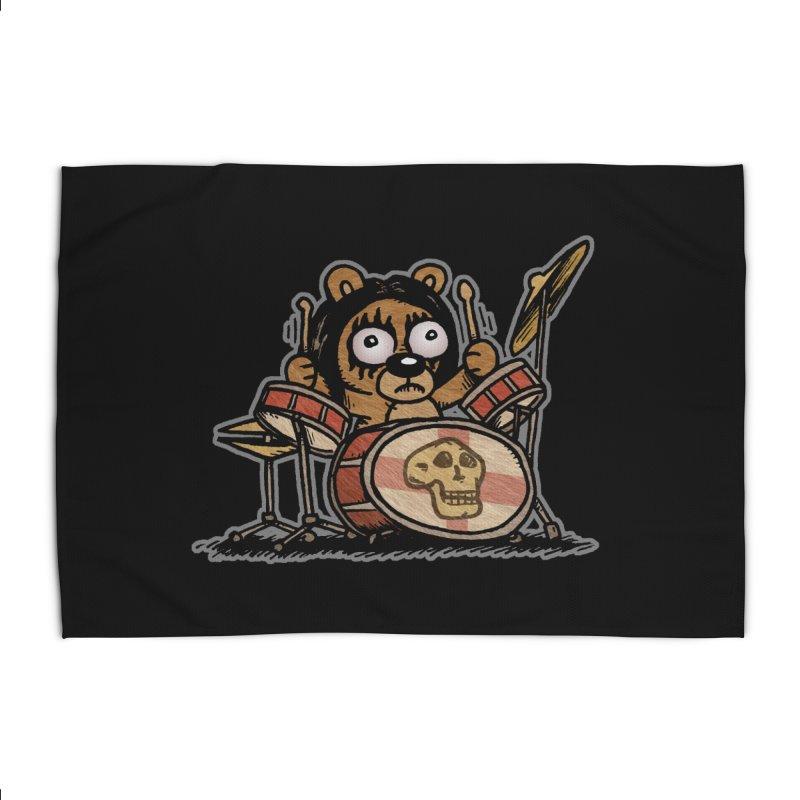 Rockin' Bear Home Rug by vtavast's Artist Shop