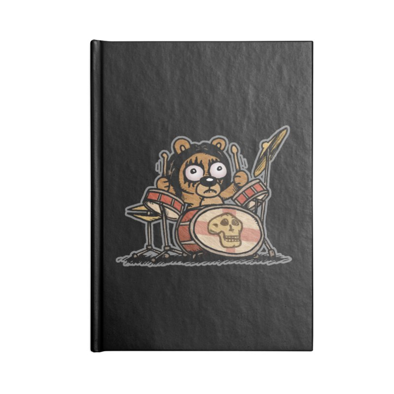 Rockin' Bear Accessories Blank Journal Notebook by vtavast's Artist Shop
