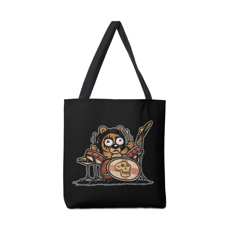 Rockin' Bear Accessories Bag by vtavast's Artist Shop