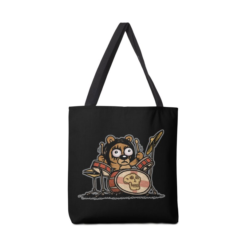 Rockin' Bear Accessories Bag by vtavast's Artist Shop