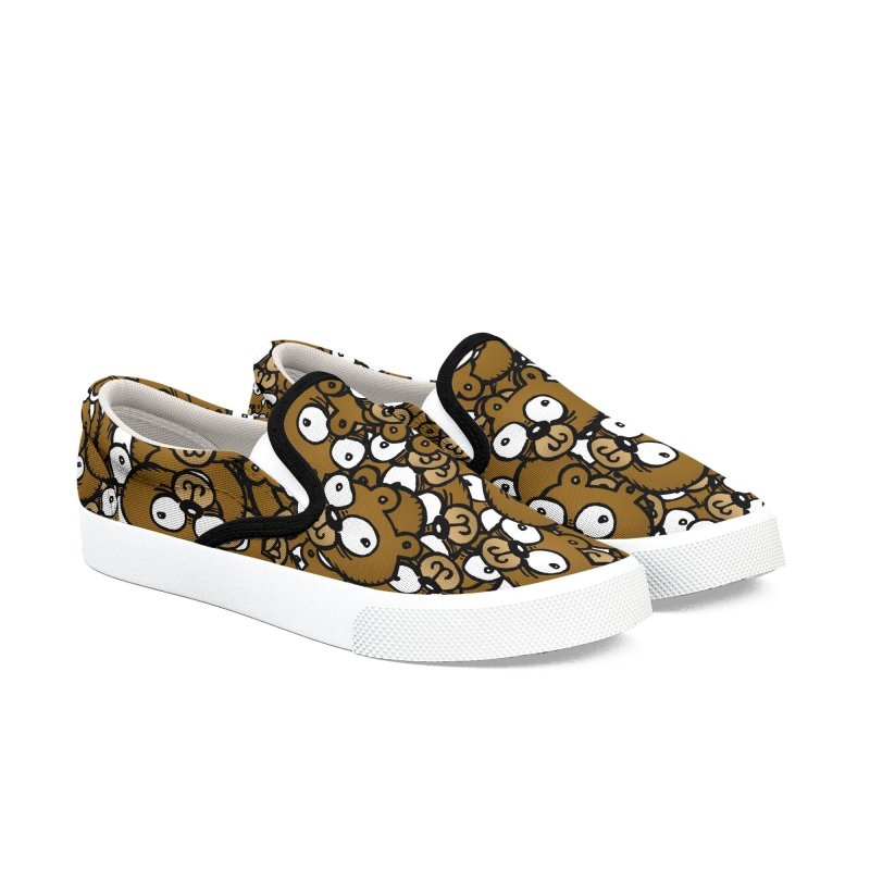 Bears for Days Women's Slip-On Shoes by vtavast's Artist Shop