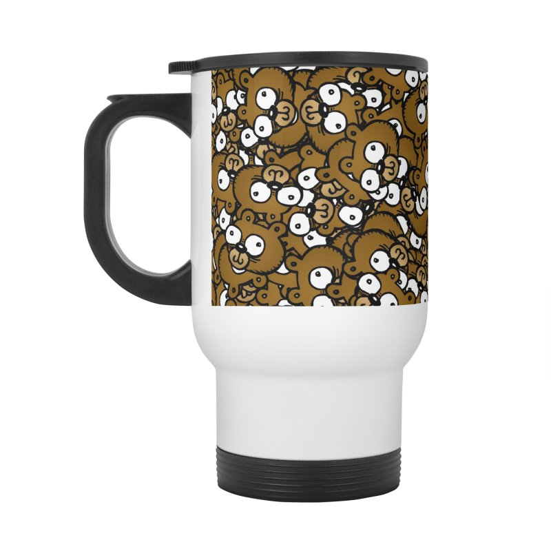Bears for Days Accessories Travel Mug by vtavast's Artist Shop