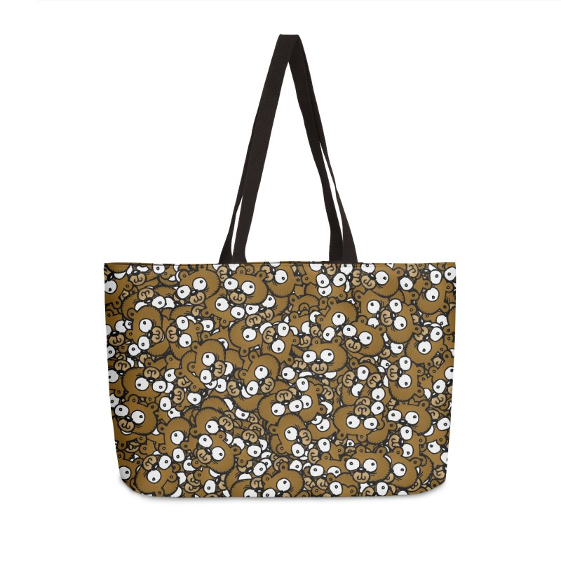 Bears for Days Accessories Weekender Bag Bag by vtavast's Artist Shop