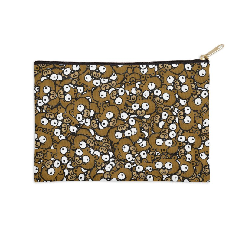 Bears for Days Accessories Zip Pouch by vtavast's Artist Shop