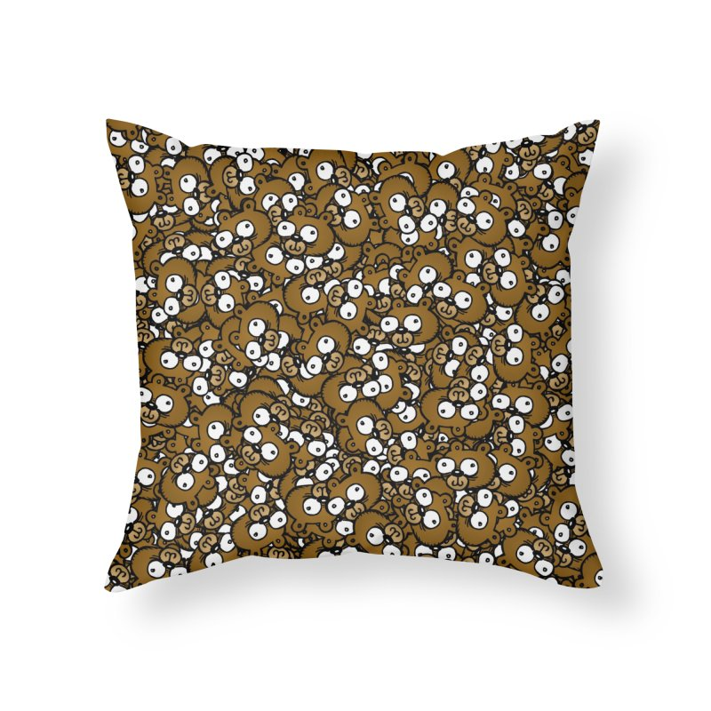 Bears for Days Home Throw Pillow by vtavast's Artist Shop