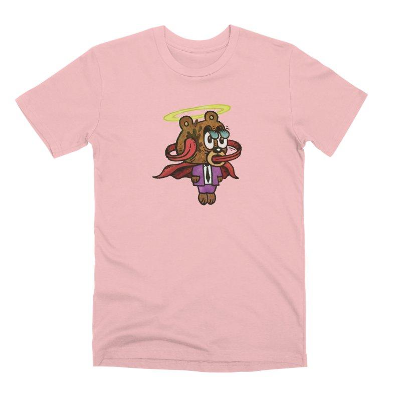 Super Duper Bear Men's Premium T-Shirt by vtavast's Artist Shop