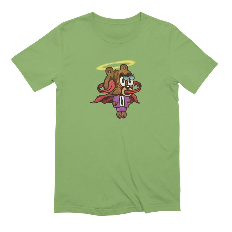 Super Duper Bear Men's Extra Soft T-Shirt by vtavast's Artist Shop