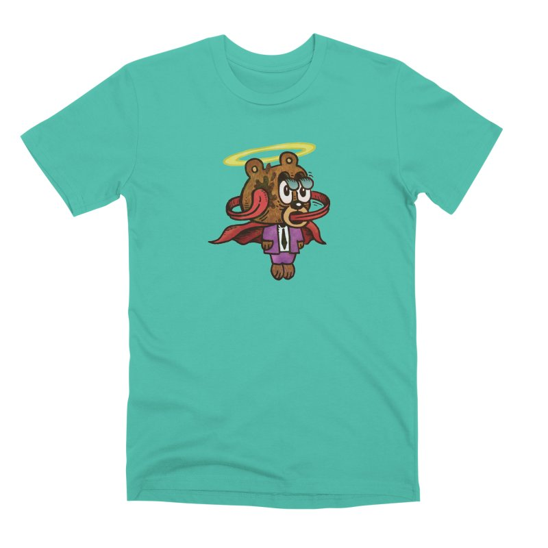 Super Duper Bear Men's Premium T-Shirt by vtavast's Artist Shop