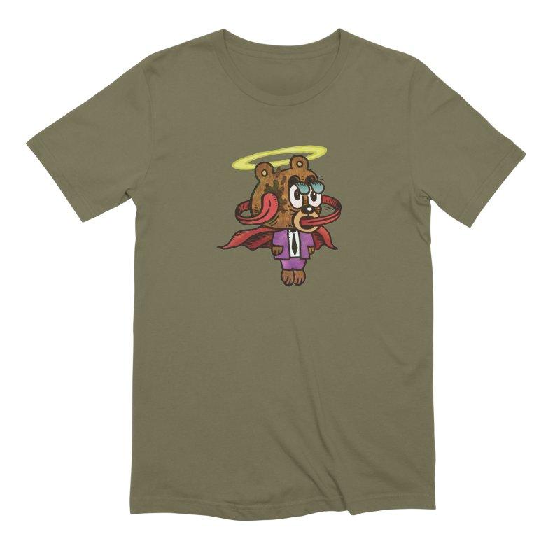 Super Duper Bear Men's Extra Soft T-Shirt by vtavast's Artist Shop