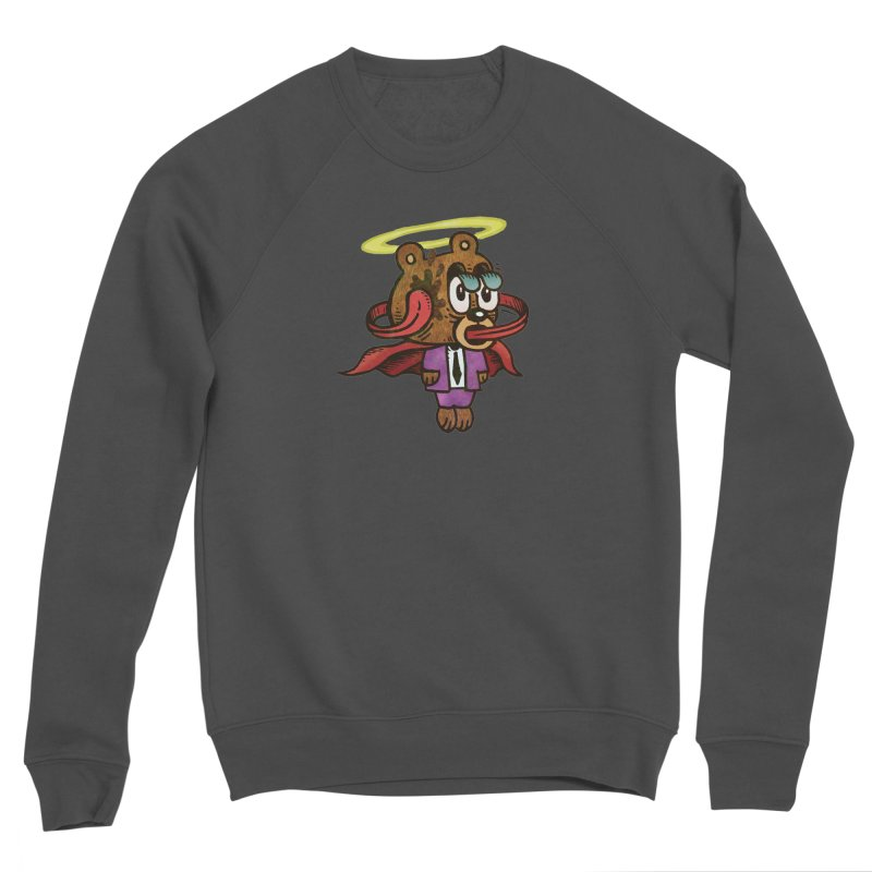 Super Duper Bear Women's Sponge Fleece Sweatshirt by vtavast's Artist Shop
