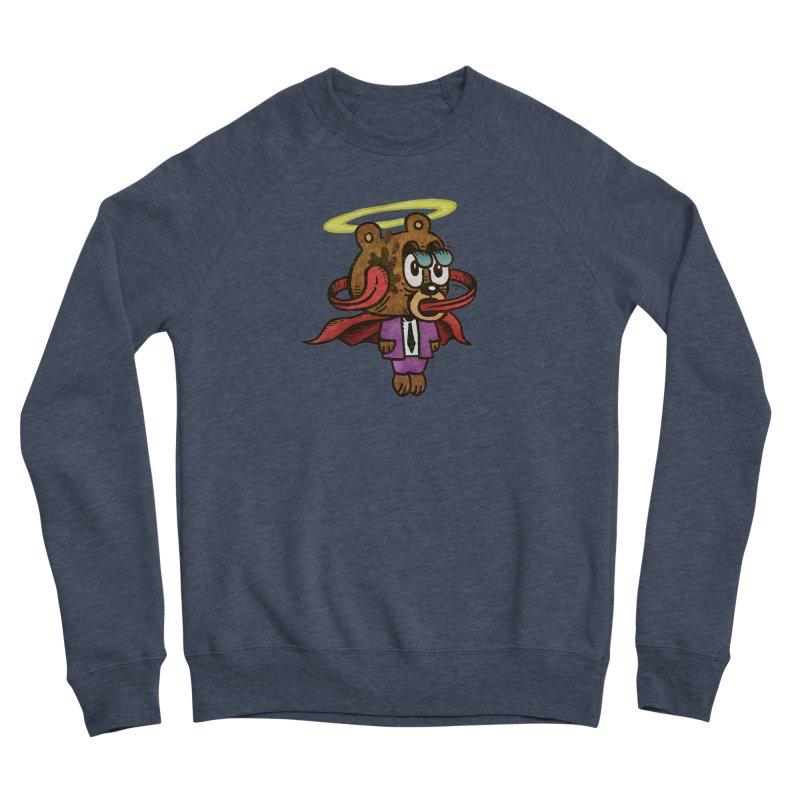 Super Duper Bear Men's Sponge Fleece Sweatshirt by vtavast's Artist Shop