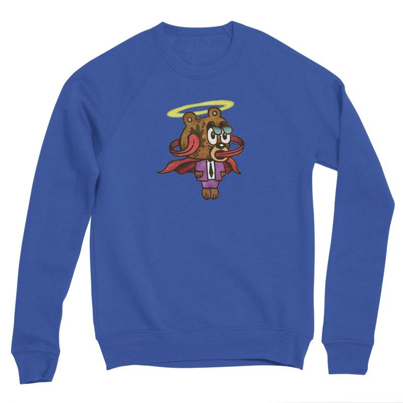 Super Duper Bear Women's Sponge Fleece Sweatshirt by vtavast's Artist Shop