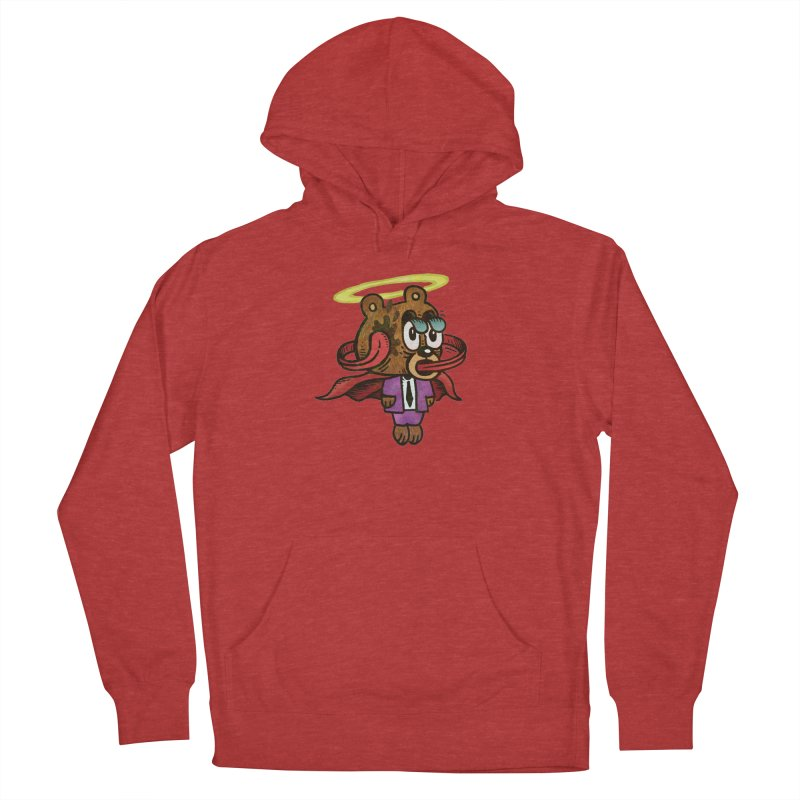 Super Duper Bear Women's French Terry Pullover Hoody by vtavast's Artist Shop