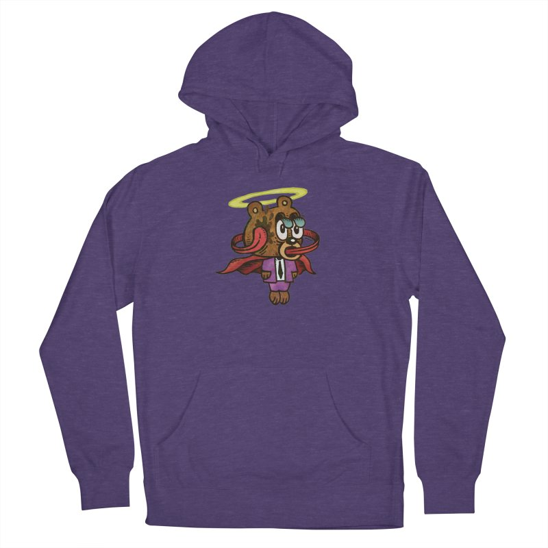 Super Duper Bear Men's French Terry Pullover Hoody by vtavast's Artist Shop