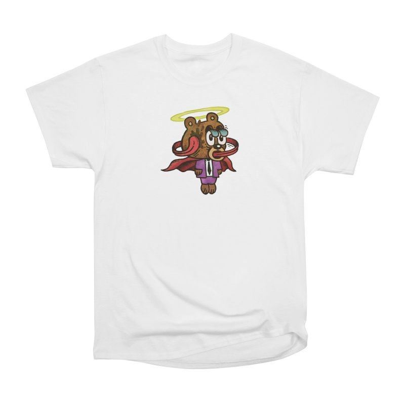 Super Duper Bear Men's Heavyweight T-Shirt by vtavast's Artist Shop