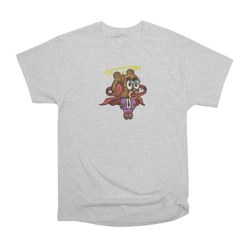 Super Duper Bear Women's Heavyweight Unisex T-Shirt by vtavast's Artist Shop