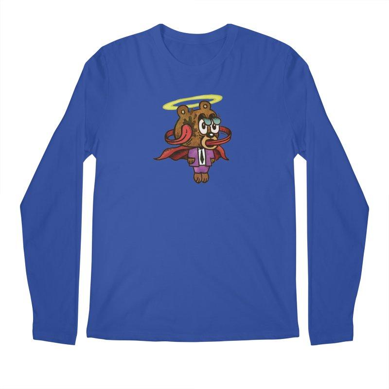 Super Duper Bear Men's Regular Longsleeve T-Shirt by vtavast's Artist Shop