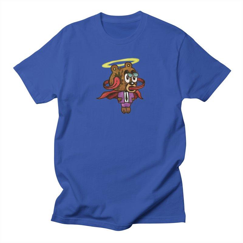Super Duper Bear Men's Regular T-Shirt by vtavast's Artist Shop