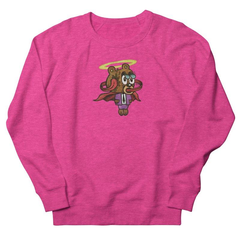 Super Duper Bear Women's French Terry Sweatshirt by vtavast's Artist Shop