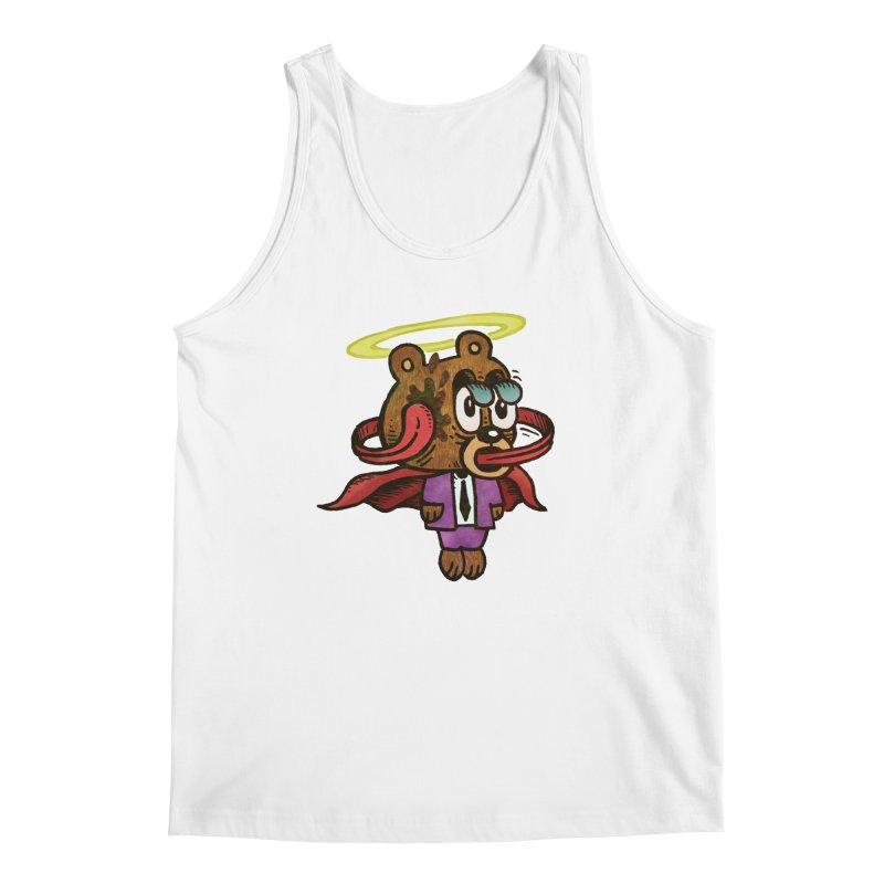 Super Duper Bear Men's Regular Tank by vtavast's Artist Shop