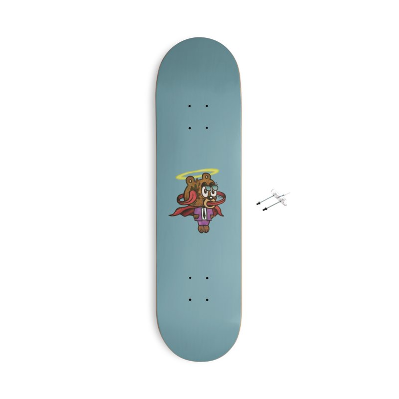 Super Duper Bear Accessories With Hanging Hardware Skateboard by vtavast's Artist Shop