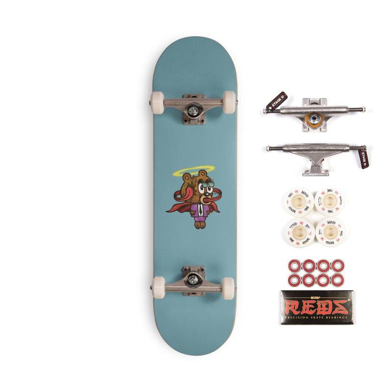 Super Duper Bear Accessories Complete - Pro Skateboard by vtavast's Artist Shop