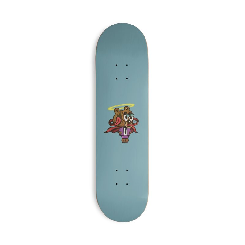 Super Duper Bear Accessories Deck Only Skateboard by vtavast's Artist Shop