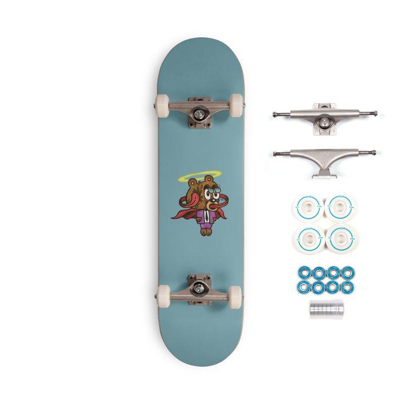 Super Duper Bear Accessories Skateboard by vtavast's Artist Shop