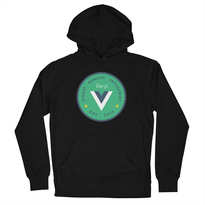 Vue Badge Women's French Terry Pullover Hoody by The Vue Shop