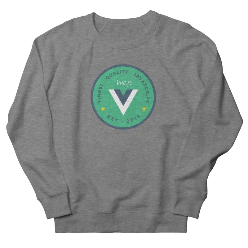 Vue Badge Women's French Terry Sweatshirt by The Vue Shop