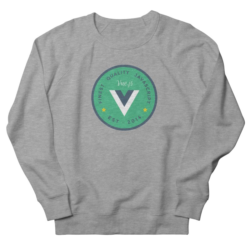 Vue Badge Men's French Terry Sweatshirt by The Vue Shop