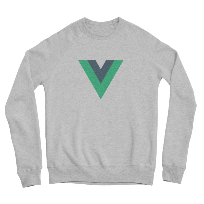 Vue Logo Men's Sponge Fleece Sweatshirt by The Vue Shop