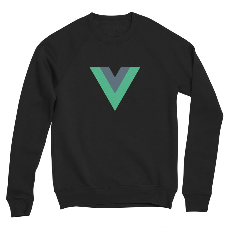 Vue Logo Men's Sponge Fleece Sweatshirt by The Vue Shop