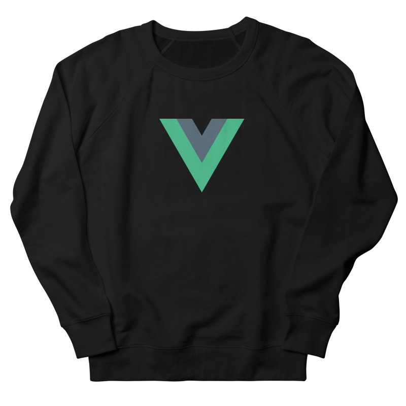 Vue Logo Men's Sweatshirt by The Vue Shop
