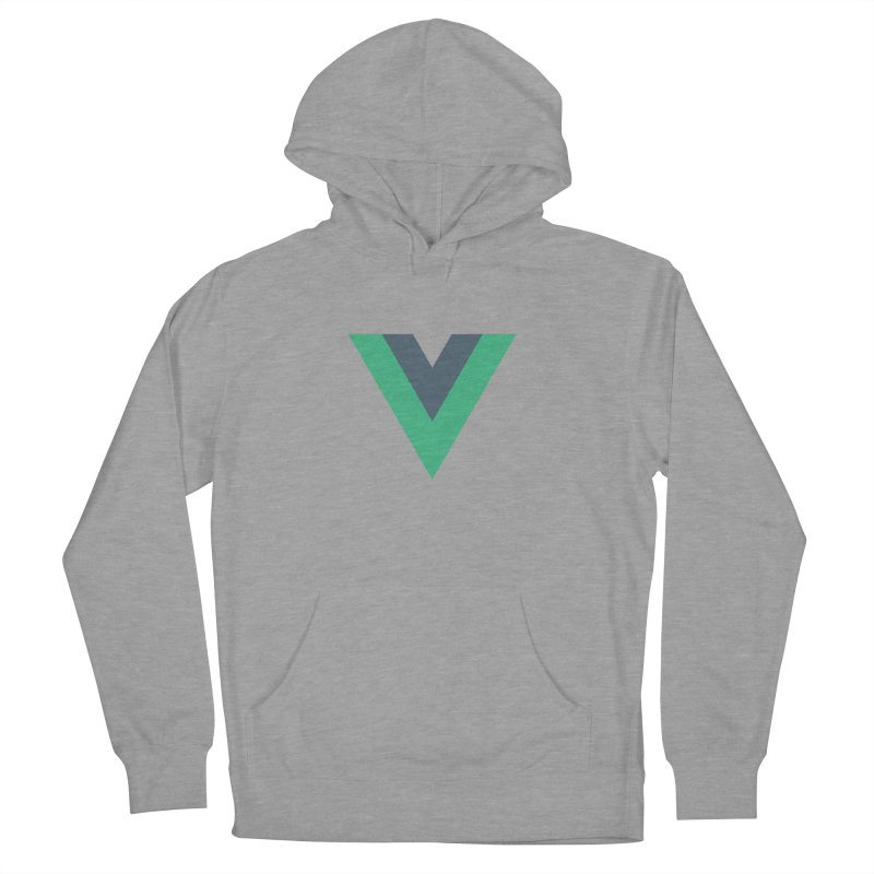 Vue Logo Women's French Terry Pullover Hoody by The Vue Shop