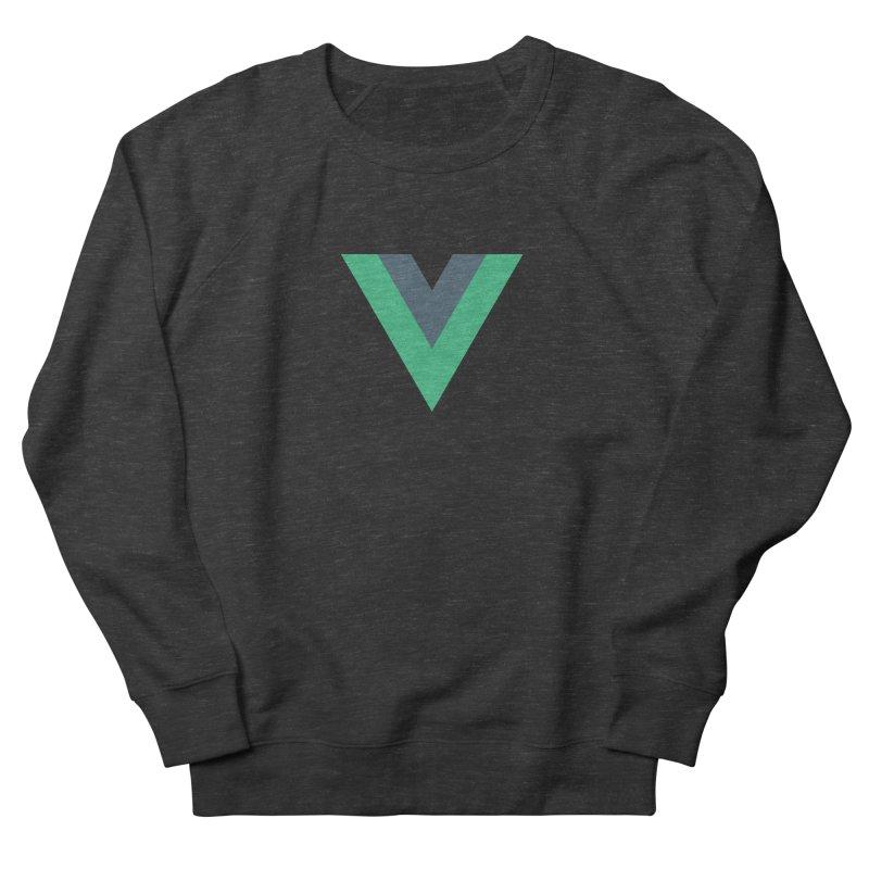Vue Logo Men's French Terry Sweatshirt by The Vue Shop