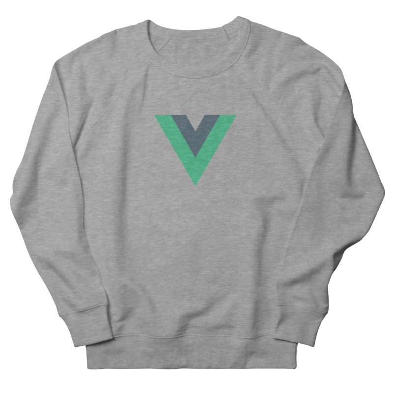 Vue Logo Men's French Terry Sweatshirt by The Vue Shop