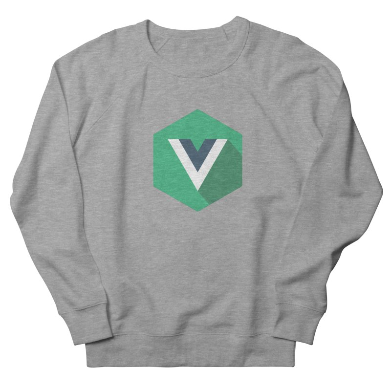 Vue Hex Women's French Terry Sweatshirt by The Vue Shop