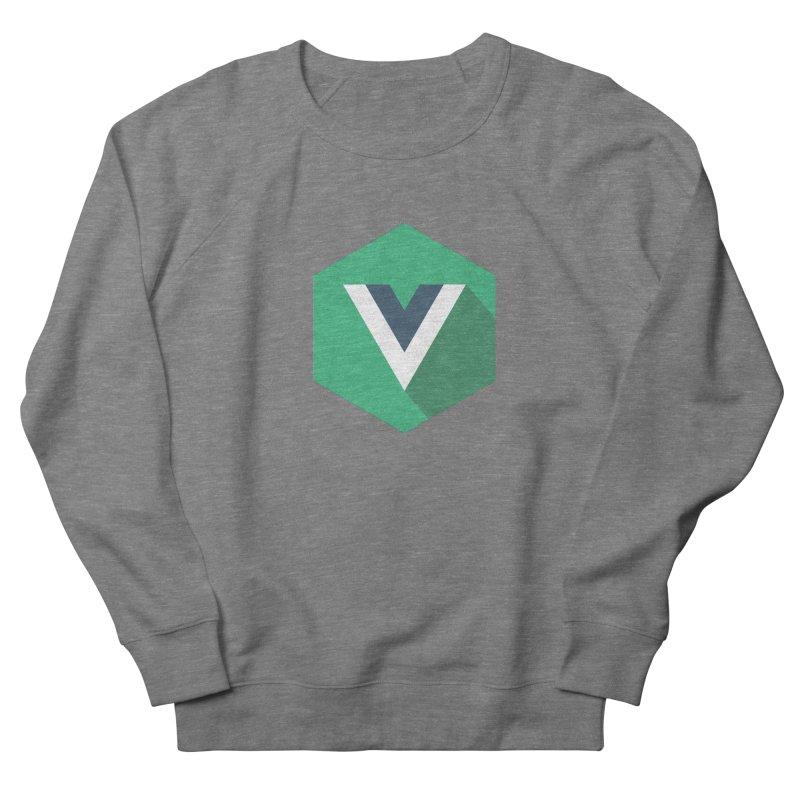 Vue Hex Men's French Terry Sweatshirt by The Vue Shop
