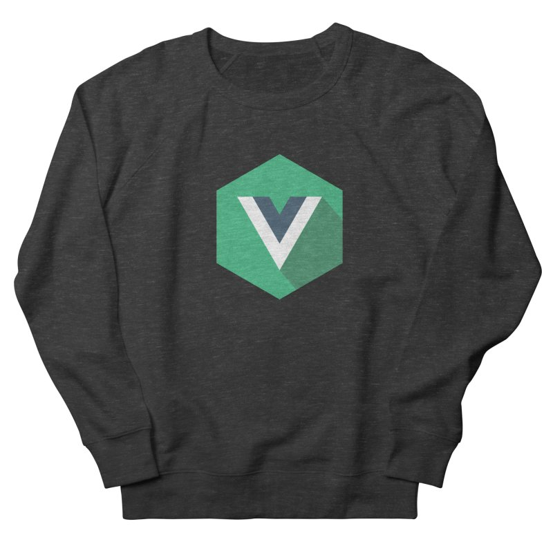 Vue Hex Men's French Terry Sweatshirt by The Vue Shop