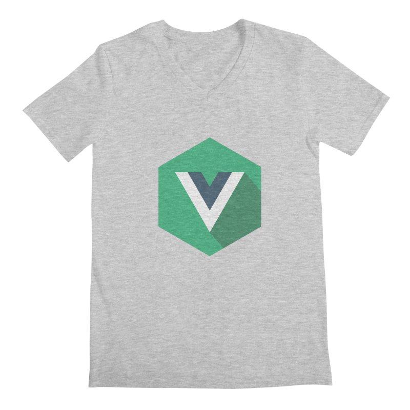 Vue Hex Men's Regular V-Neck by The Vue Shop