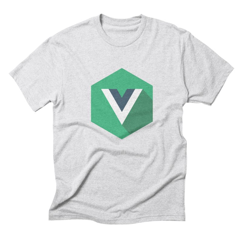 Vue Hex Men's Triblend T-shirt by The Vue Shop