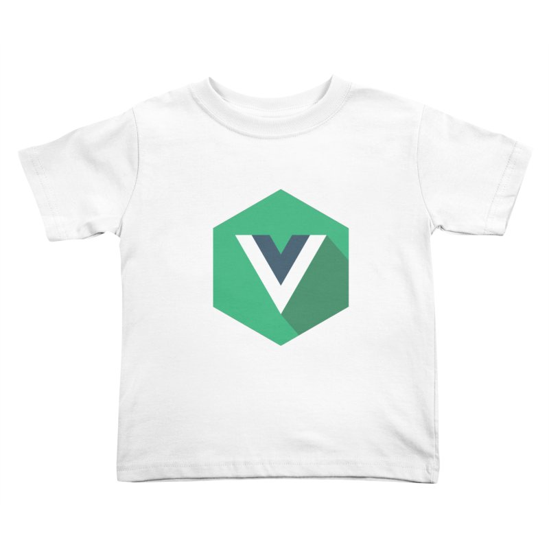 Vue Hex Kids Toddler T-Shirt by The Vue Shop