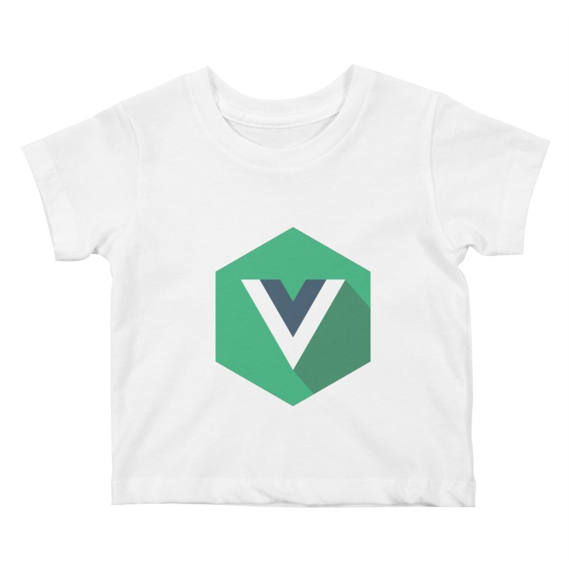 Vue Hex Kids Baby T-Shirt by The Vue Shop